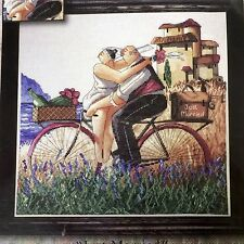 Counted Cross Stitch Kit Just Married Design Works 14 by 14 Ronald West New