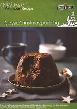 Recipe Card: Classic Christmas Pudding (Waitrose)