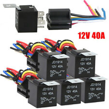 Waterproof Automotive Relay 12V 5Pin 40A Car Relay 12V 5Pin With Relay Socket_vi
