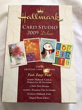 Hallmarrk Card Studio 2009 Deluxe 9000+ Cards and Projects Design Your Own Cards