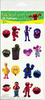Sesame Street Tattoos - Sesame St Birthday Party Favours and Loot Ideas - Elmo