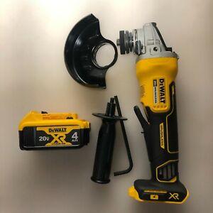 Dewalt DCG413B 20V Brushless Cordless 4 1/2 Angle Grinder w/ battery NEW 2 DAY