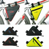 Bicycle Bike Storage Bag Triangle Saddle Frame Adjustable Cycling Pouch Pack