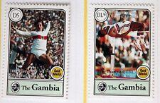 Par de Gambia – Medalla de Oro Olimpiadas par – Um (estampillada sin montar o nunca montada) – (R4)