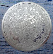 1 oz. Aztec Calendar BU rounds .999 fine silver