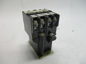 Westinghouse ARD4M Type AR Industrial Control Relay 600vdc 765A651G05