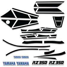Fairing Tank Cover For Yamaha RZ 350 Graphic Decal Kit Bike Wrap 1983-1985