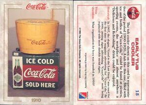 R@R@ AND ORIGINAL CARD U.S.A.*COCA COLA, FIRST SERIES-N.15*- NEW,PERFECT-N.395