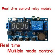 Real Time Clock Control Synchronization 24H 5 Periods Precision Module Board TW