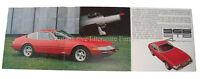 1968 FERRARI 365 GTB4 PININFARINA DAYTONA BROCHURE PROSPEKT DEPLIANT 25/68