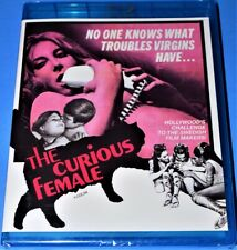 NEW CODE RED ANGELIQUE PETTYJOHN THE CURIOUS FEMALE SCI FI MOVIE BLU RAY 1969