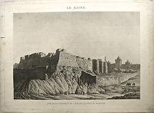 Eau-fortre, Le Kaire, tout début XIXème, L-P. Baltard d'après N-J Conté