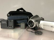 Panasonic Vdr-D220 Dvd Palmcorder Camcorder O.I.S. w/Box Charger Tested Working