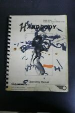 Bally Hardbody Pinball Machine Operations Manual - Used