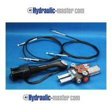 VALVE +SOLENOID + JOYSTICK  LEADER  40 l/min swimming section +3rd KUBOTA