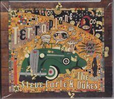 STEVE EARLE & THE DUKES Terraplane DELUXE EDITION  CD & DVD SEALED freepostage