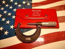 Starrett Nos167c Radius Gage Set Stainless Steel Amp Lufkin No1912 Mic
