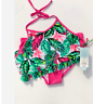Girls' Paradise Palms Bikini Set Cat&Jack Size: M & L  Pink Green Tropical