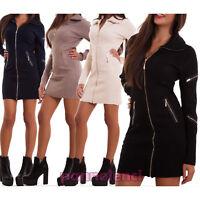 Giacca donna vestito miniabito giacchetto cardigan pull maglione nuovo KK871
