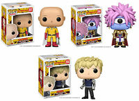 Funko POP! Animation ~ ONE PUNCH MAN VINYL FIGURE SET ~ Saitama, Genos & Boros