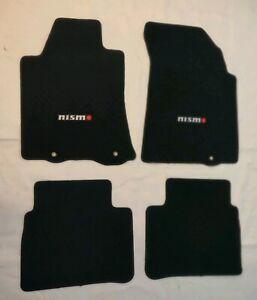 For 13-16 Nissan Altima  Nylon Floor Mats Carpets Black W/ Nismo Emblem