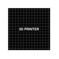 Wanhao i3 Anet A8 A6 Ender-3 3D Printer Hot Bed Platform Sticker No Glue Trace