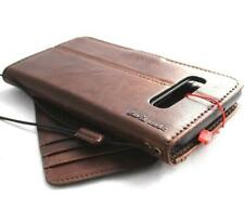 GENUINE LEATHER CASE FOR SAMSUNG GALAXY S10E BOOK Vintage Card Removable PRO