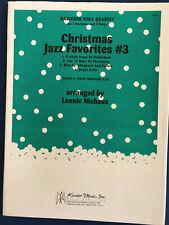 Christmas Jazz Favorites #3, arr. Lennie Niehaus, Baritone-Tuba Quartet