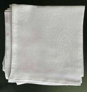 "50 Linens 20"" Square Premium Polyester Cloth Dinner Napkins Restaurant Quality"
