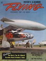 Flying Magazine (Dec 1951) (Russian Bomber, Naval Aviation, 58th Weather Sq)