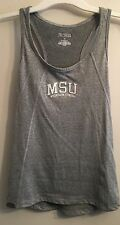 JANSPORT Sz M Michigan State MSU Gray Tank  Crewneck College University Top