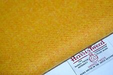 Harris Tweed Fabric & Labels YELLOW MUSTARD craft upholstery tailoring