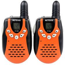 Retevis RT-602 (22 Channels) Two Way Radio - Orange
