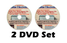 HUGE Popular Electronics Magazine 611 issues on 2 Data DVDs 1954-2003 PDF Files