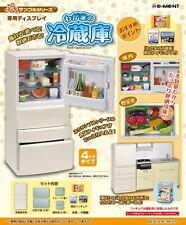 Re-Ment Miniature Kitchen Fridge Refrigerator (White) Set
