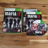 Mafia II - Microsoft Xbox 360 Game UK PAL Complete with Manual and Map
