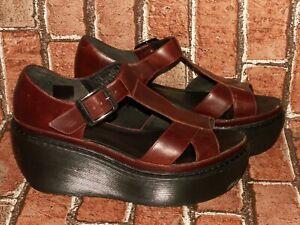 Dr Martens ADAYA leather platform wedges sandals uk 7 eu 41 us 9 Doc#521
