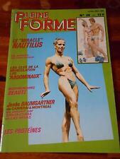 PLEINE FORME #49 female bodybuilding muscle magazine JOSEE BAUMGARTNER 5-82 (Fr)