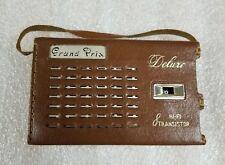 GRAND PRIX MODEL DMS-801A 8-TRANSISTOR RADIO NEEDS REPAIR