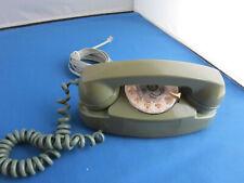 WESTERN ELECTRIC 702B-51 GREEN PRINCESS ROTARY TELEPHONE - WORKS!