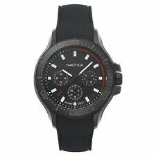 Nautica Herren Uhr Armbanduhr NAPAUC004 Silikon