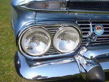 "Scheinwerfer Chevrolet Impala Kingswood Biscayne Nomad headlights H4 H1 ""E"" +"