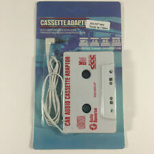 Car Audio Cassette Adapter - Mp3-Cd-Md-Dvd - New