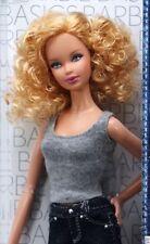 Barbie Basics Curly Hair Jeans Model #3 Doll Black Label Baby Dirty Dancing NIB