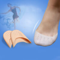 2x Ballet Dance Shoe Pads Cushion Soft Silicon Gel Protector Pointe Toe Cover YH