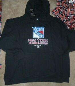 NEW NHL NY New York Rangers Hoodie Hooded Sweatshirt Women Ladies 3X Plus NWT