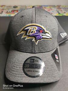 Baltimore Ravens New Era 39Thirty NFL Team Headwear Size L/XL Flex-Fit Hat