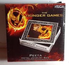 Hunger Games Peeta Metal Jewelry Box- FREE S&H (HGJW-78)