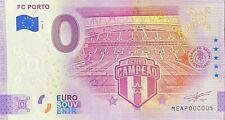 BILLET 0  EURO  FC PORTO PORTUGAL   2020   NUMERO  05