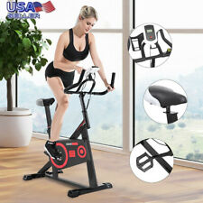 Exercise Bike Stationary Bicycle Indoor Cycling Cardio Fitness Workout Gym LCD